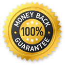 100% Money Back Guarantee for 14 days!